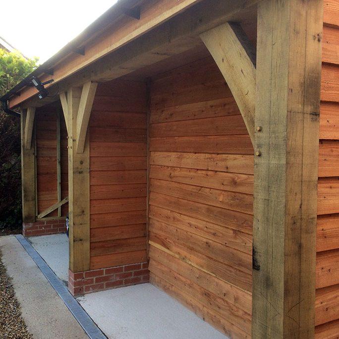 oak framed buildings wiltshire