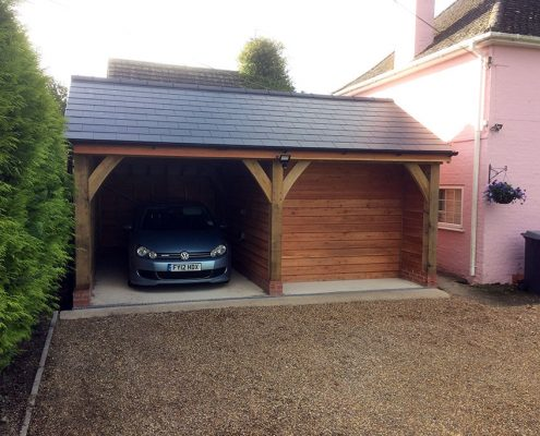 Garages archives the traditional carpenters for 2 bay carport