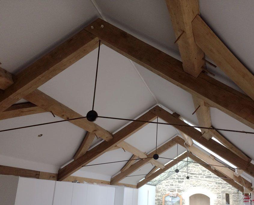 Oak kitchen extension
