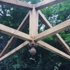 Oak Hipped roof